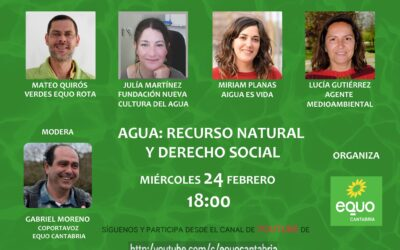 AGUA: RECURSO NATURAL Y DERECHO SOCIAL
