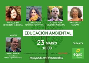 Cartel Educación ambiental