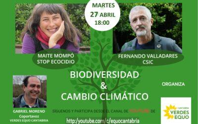 Biodiversidad y Cambio climático.