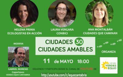 Ciudades 30 – Ciudades Amables