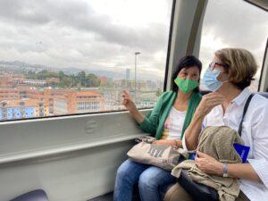 Inés Sabanes viaja de Bilbao a Santander