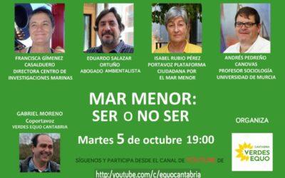 MAR MENOR: SER O NO SER